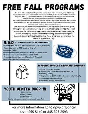 NPYP Fall Program Schedule-1